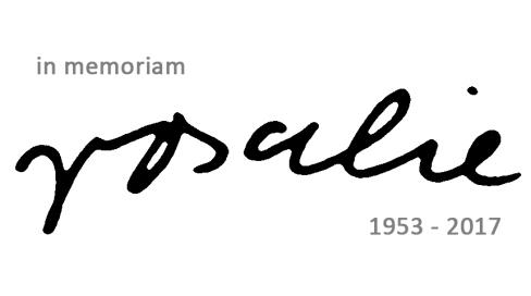 in memoriam   rosalie   1953-2017